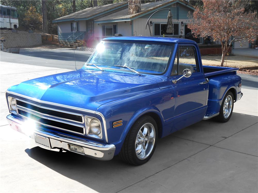 1968 CHEVROLET CUSTOM PICKUP - Front 3/4 - 138128