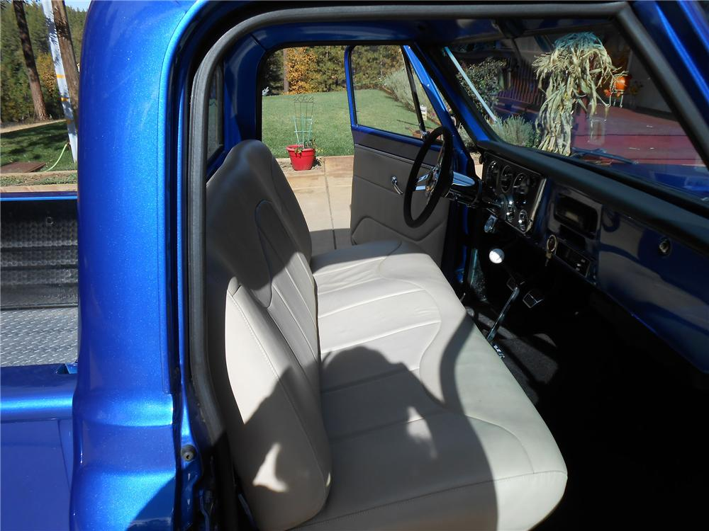 1968 CHEVROLET CUSTOM PICKUP - Interior - 138128