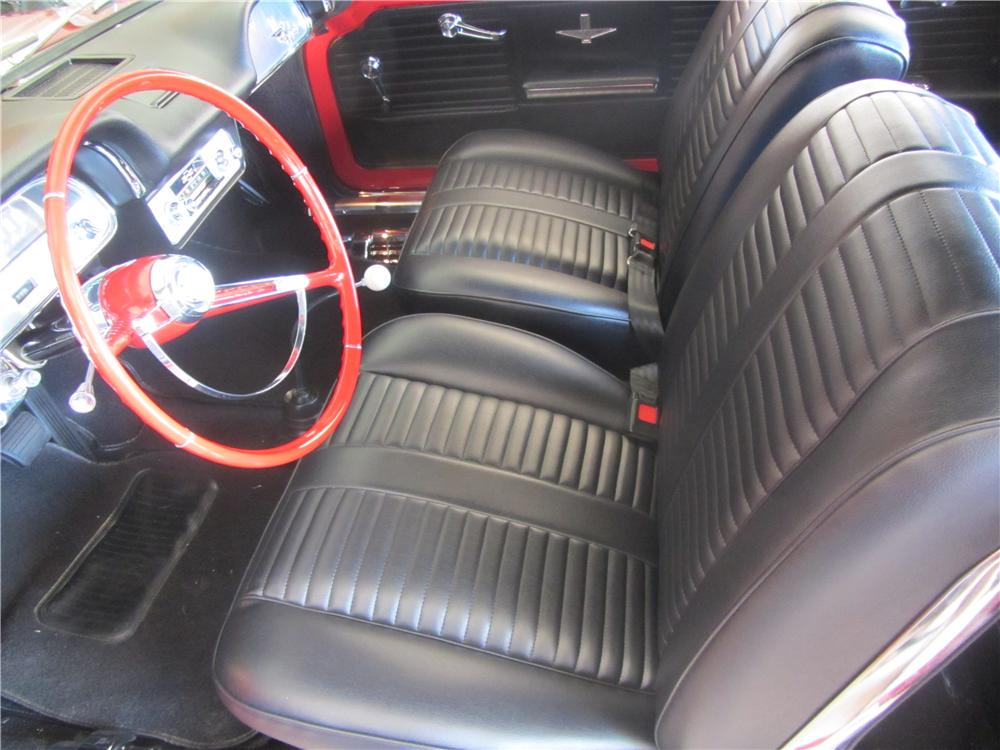 1964 CHEVROLET CORVAIR CONVERTIBLE - Interior - 138130