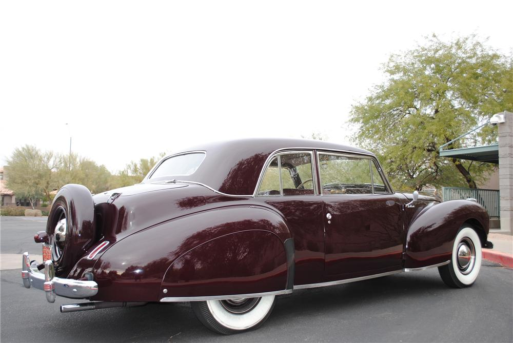 1941 LINCOLN CONTINENTAL 2 DOOR COUPE - Rear 3/4 - 138131