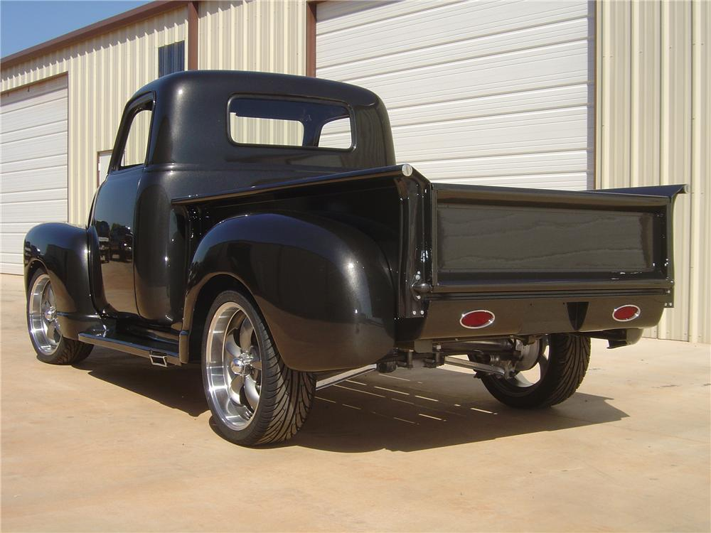1949 CHEVROLET CUSTOM PICKUP - Rear 3/4 - 138132