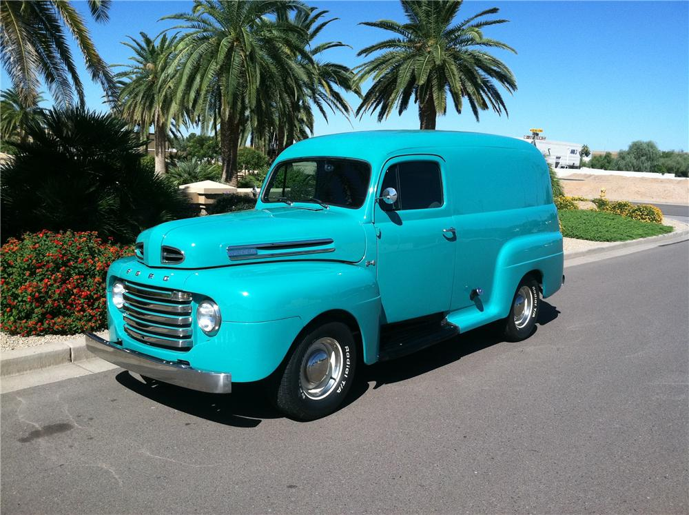 1948 FORD F-1 CUSTOM SEDAN DELIVERY - Front 3/4 - 138135