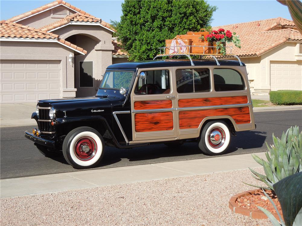 1964 WILLYS JEEP STATION WAGON - Side Profile - 138136