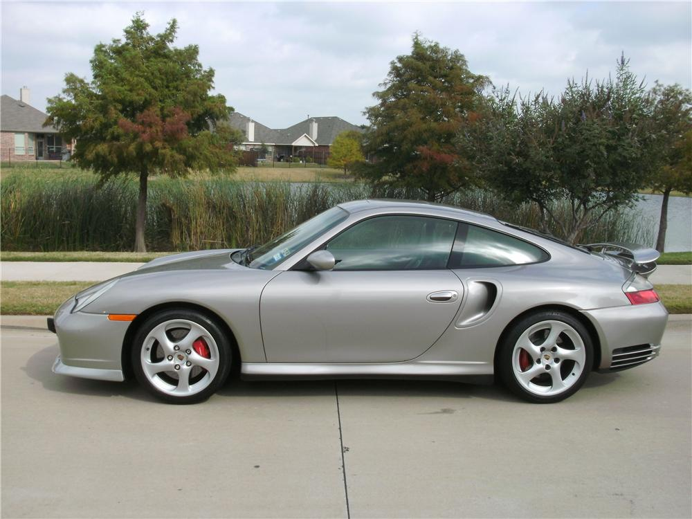 2001 PORSCHE 911 TURBO 2 DOOR COUPE - Side Profile - 138146