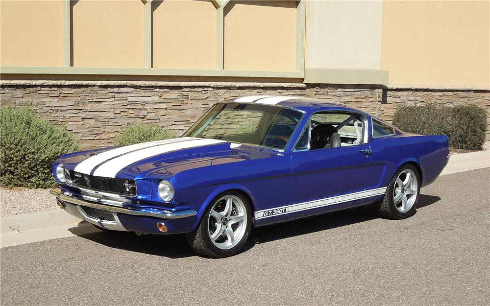 Build A Ford Mustang