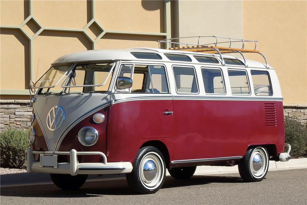 1967 VOLKSWAGEN 21 WINDOW BUS - Front 3/4 - 138152
