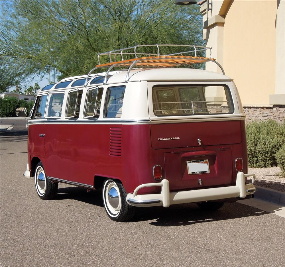 1967 volkswagen 21 window bus 138152