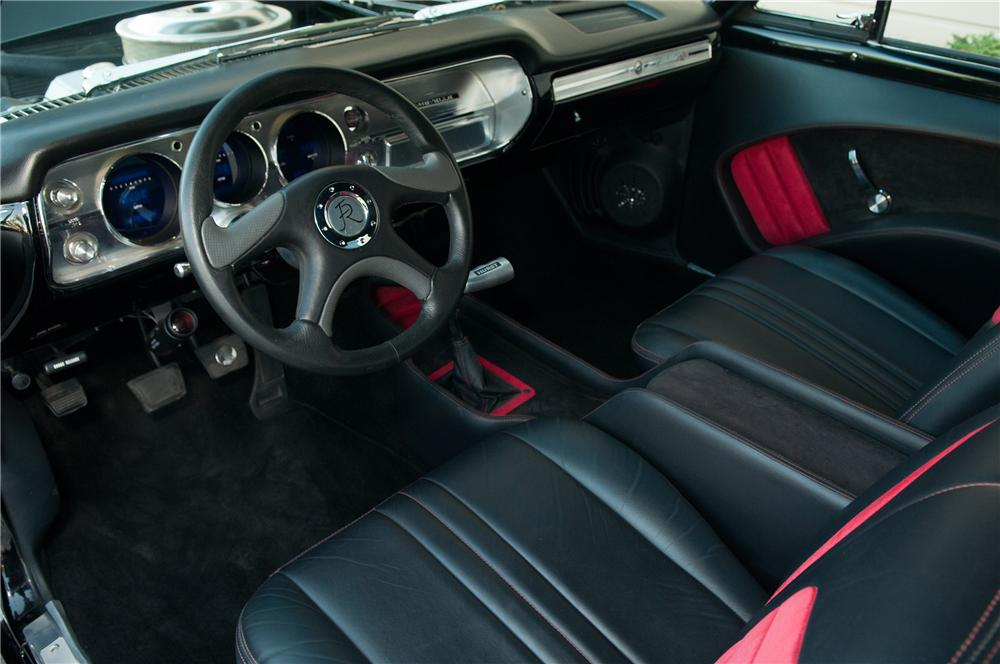 1965 chevrolet chevelle malibu ss custom 2 door coupe 138156 - Interior images ...