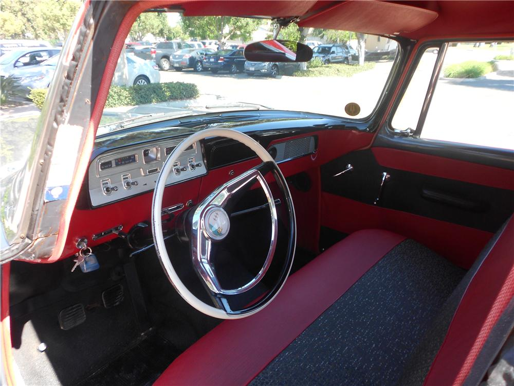 1958 STUDEBAKER STATION WAGON - Interior - 138161