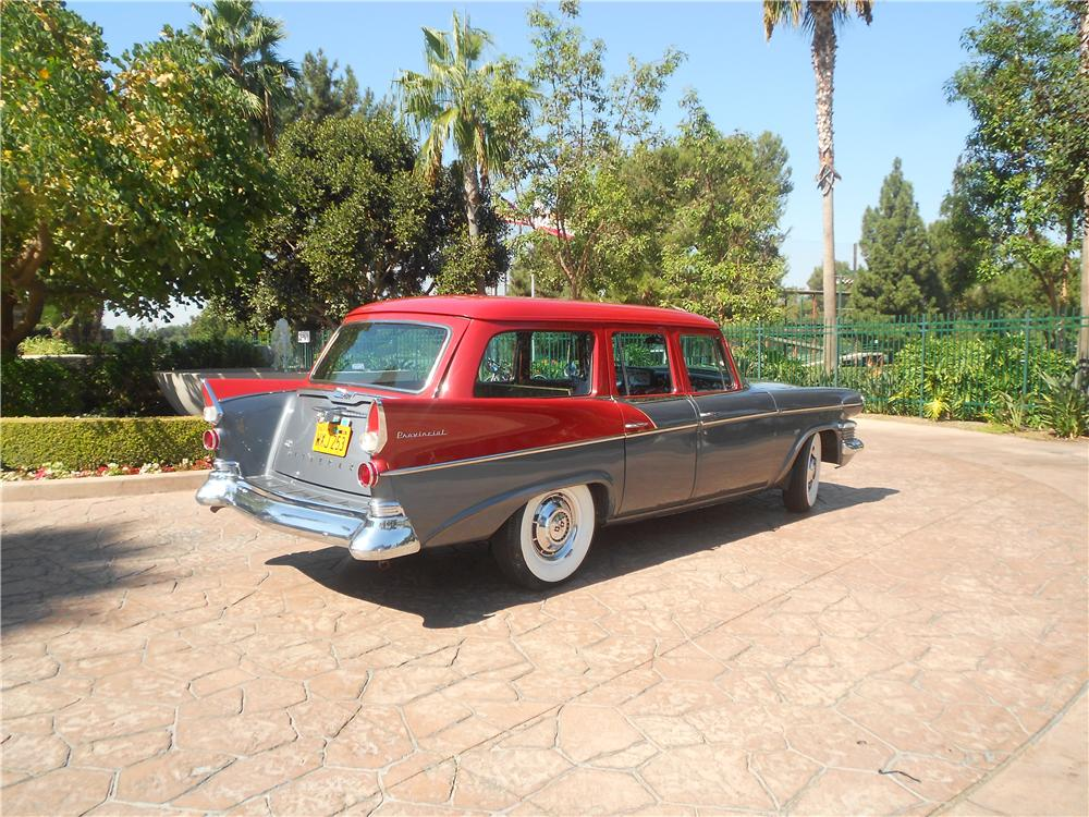 1958 STUDEBAKER STATION WAGON - Rear 3/4 - 138161