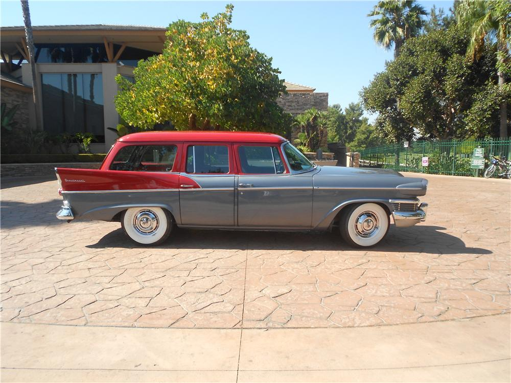 1958 STUDEBAKER STATION WAGON - Side Profile - 138161