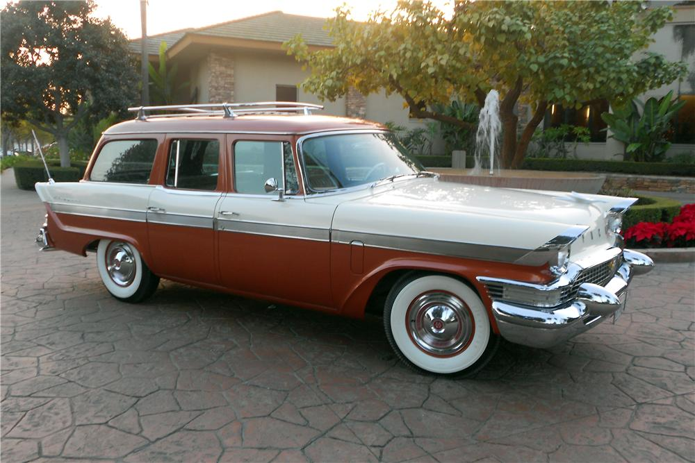 1957 PACKARD CLIPPER STATION WAGON138163