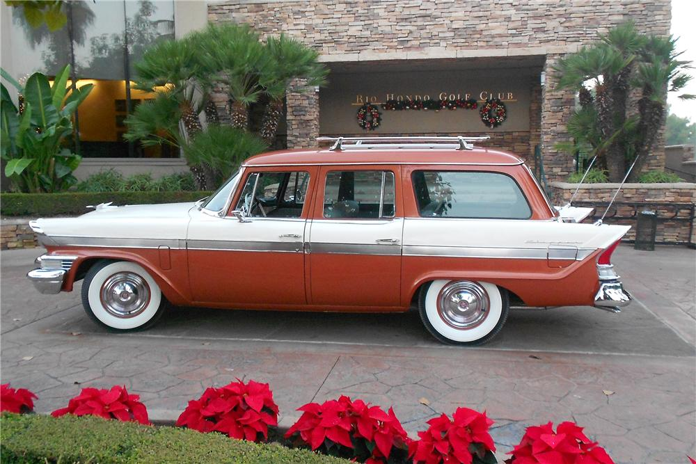 1957 PACKARD CLIPPER STATION WAGON - Side Profile - 138163
