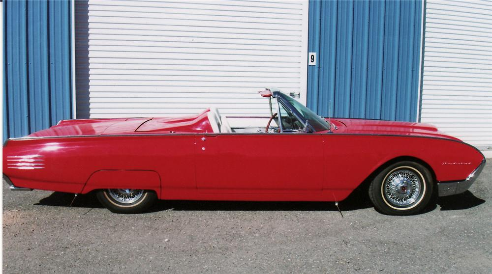 1961 FORD THUNDERBIRD CONVERTIBLE PACE CAR RE-CREATION - Side Profile - 138169