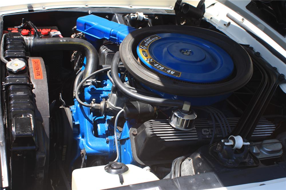 1968 SHELBY GT500 KR CONVERTIBLE - Engine - 138176
