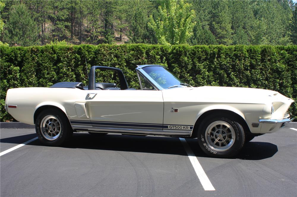1968 SHELBY GT500 KR CONVERTIBLE - Front 3/4 - 138176