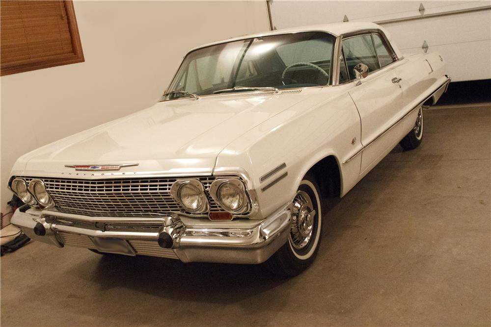 1963 CHEVROLET IMPALA 2 DOOR COUPE - Front 3/4 - 138178