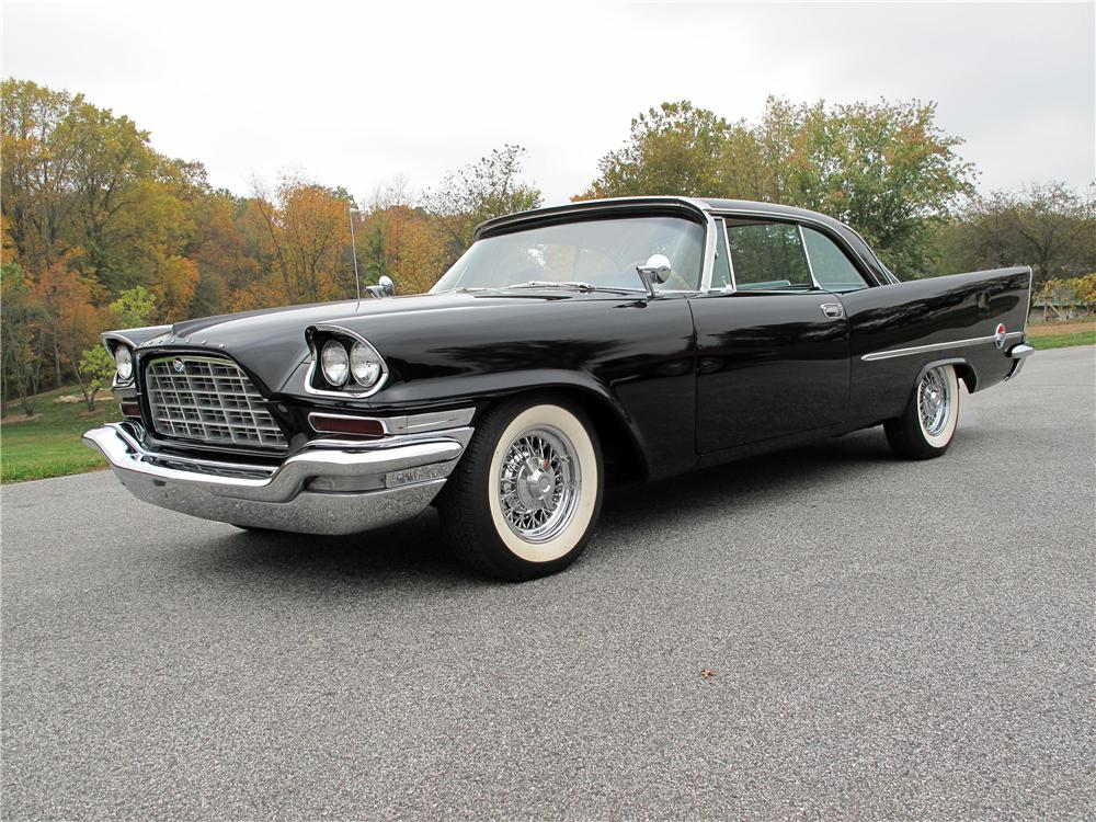 1957 CHRYSLER 300C 2 DOOR COUPE - Front 3/4 - 138181