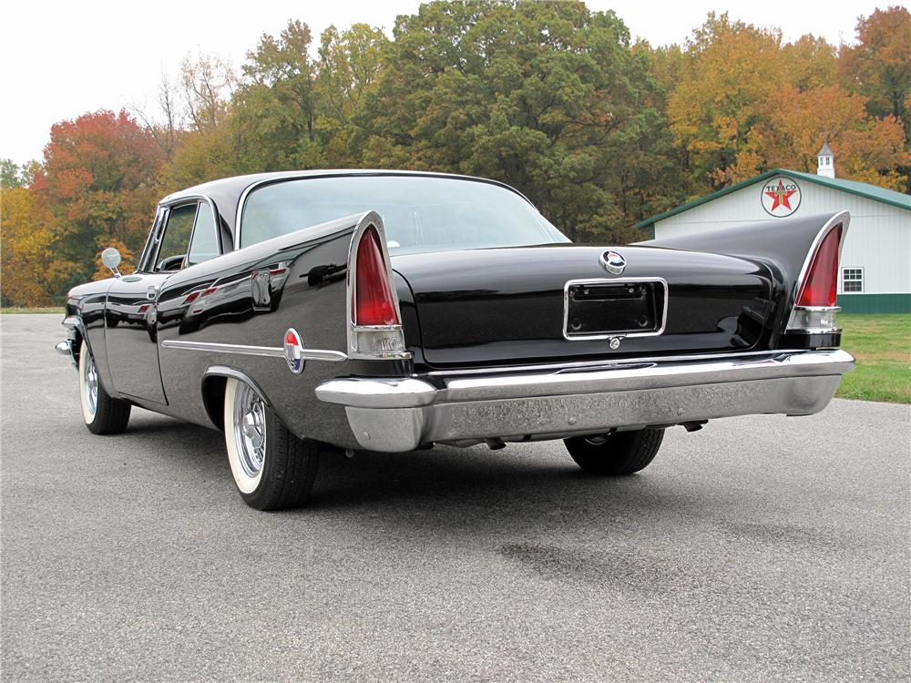1957 CHRYSLER 300C 2 DOOR COUPE - Rear 3/4 - 138181