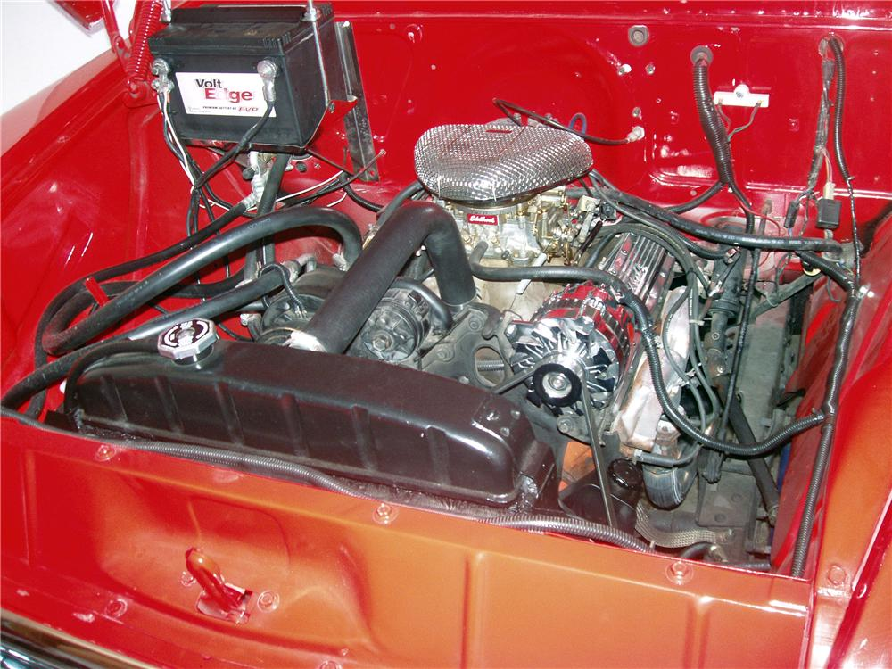 1957 CHEVROLET 3100 CUSTOM PICKUP - Engine - 138182