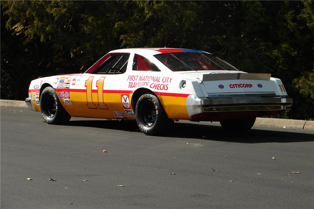 1977 OLDSMOBILE CUTLASS CALE YARBOROUGH RACE CAR - Rear 3/4 - 138188