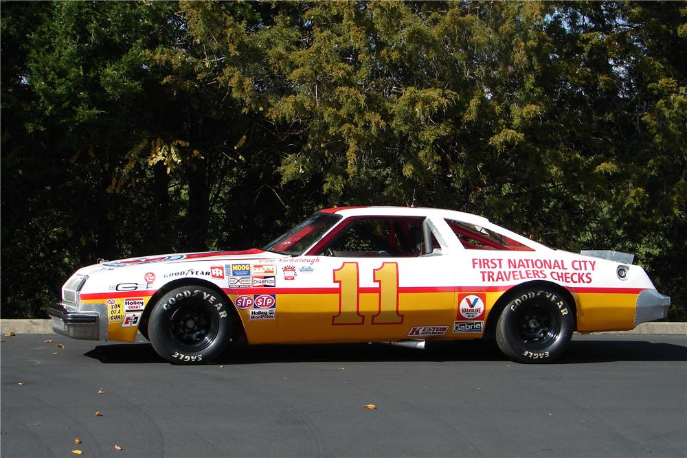 1977 OLDSMOBILE CUTLASS CALE YARBOROUGH RACE CAR - Side Profile - 138188
