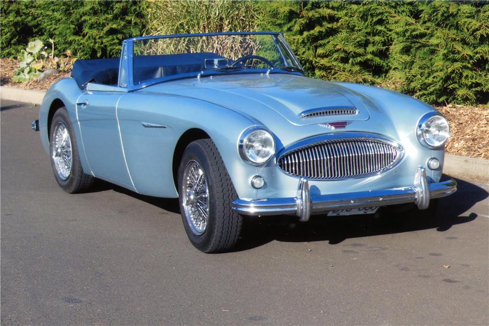 1964 AUSTIN-HEALEY 3000 MARK III BJ8 CONVERTIBLE - Front 3/4 - 138193