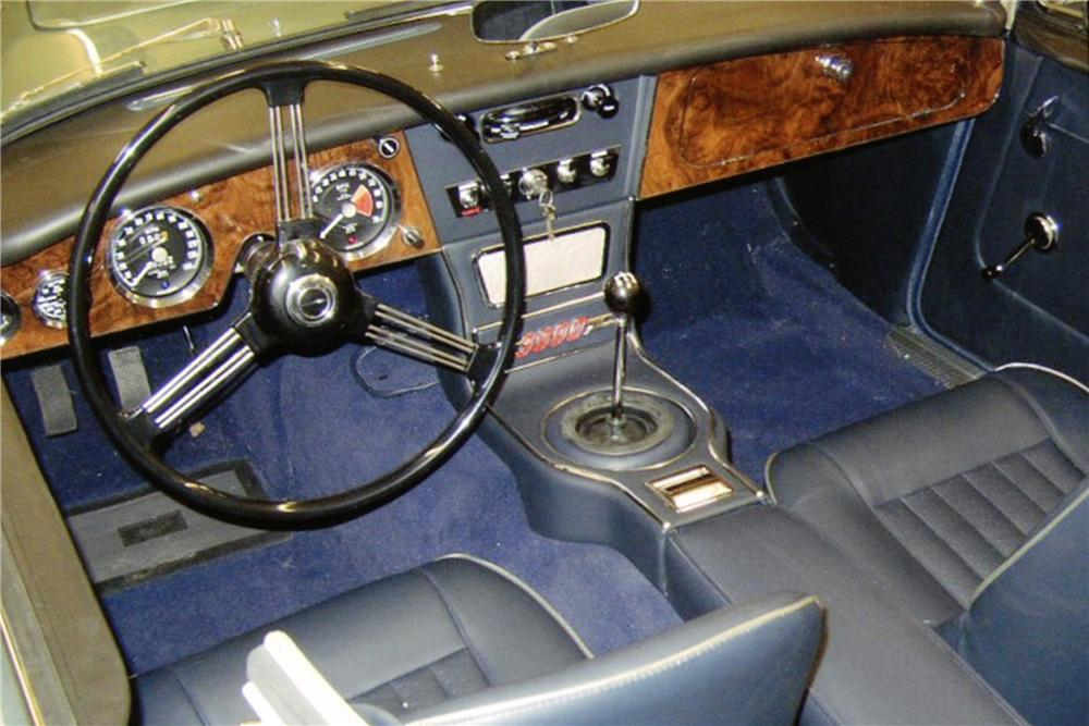 1964 AUSTIN-HEALEY 3000 MARK III BJ8 CONVERTIBLE - Interior - 138193