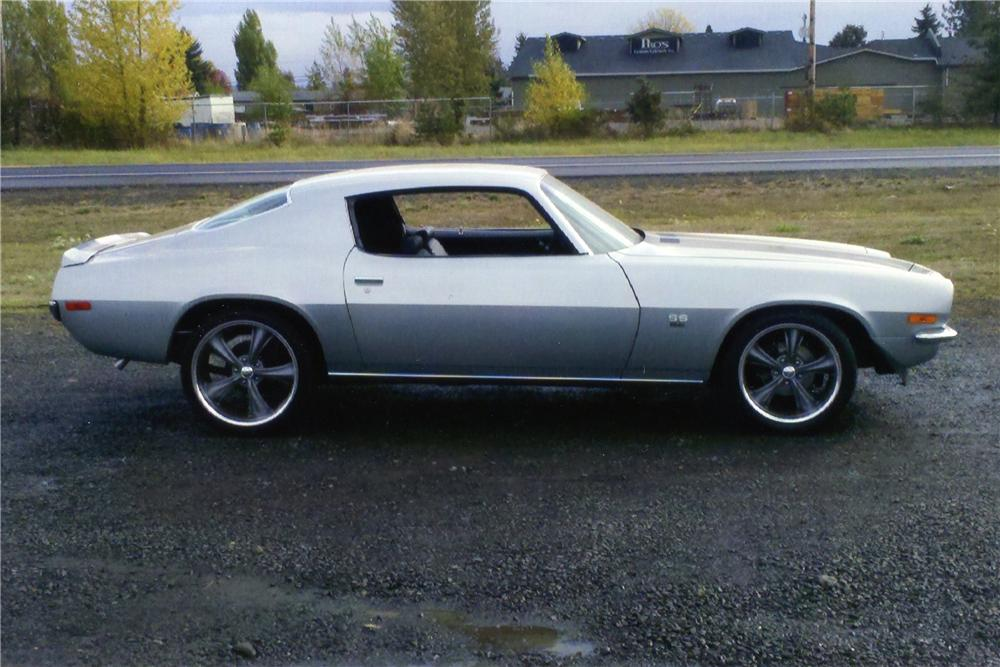 1970 CHEVROLET CAMARO 2 DOOR COUPE - Side Profile - 138195