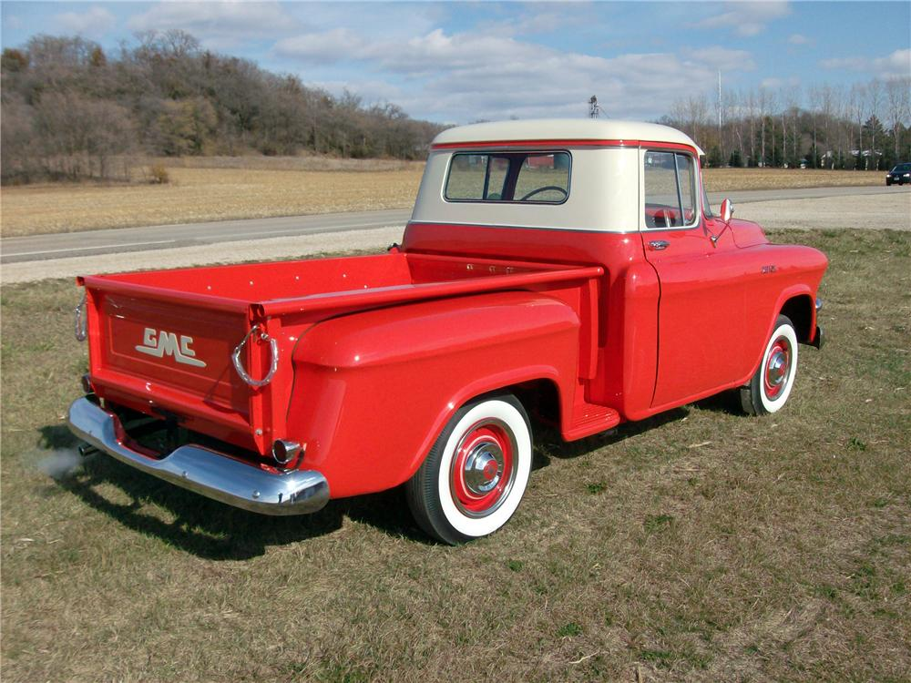 1956 GMC 100 PICKUP - Rear 3/4 - 138200