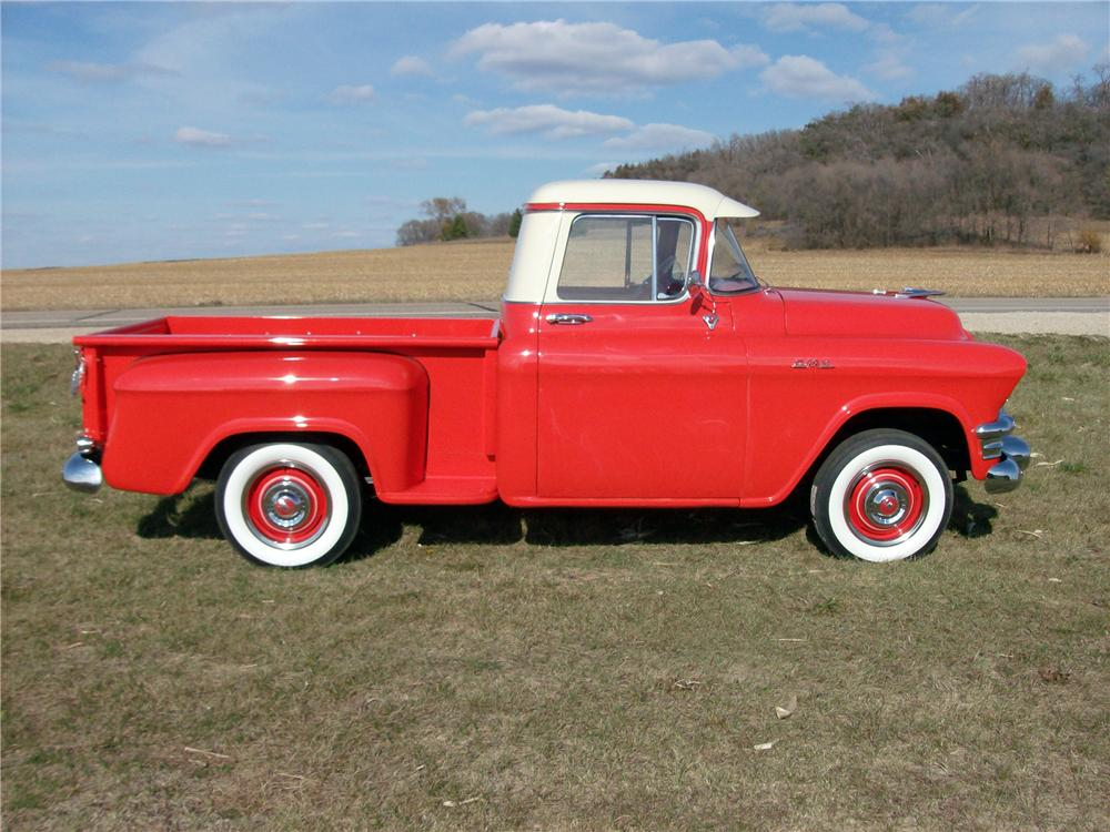 1956 GMC 100 PICKUP - Side Profile - 138200