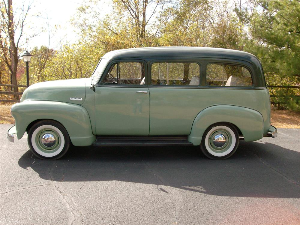 1952 CHEVROLET SUBURBAN STATION WAGON - Side Profile - 138201