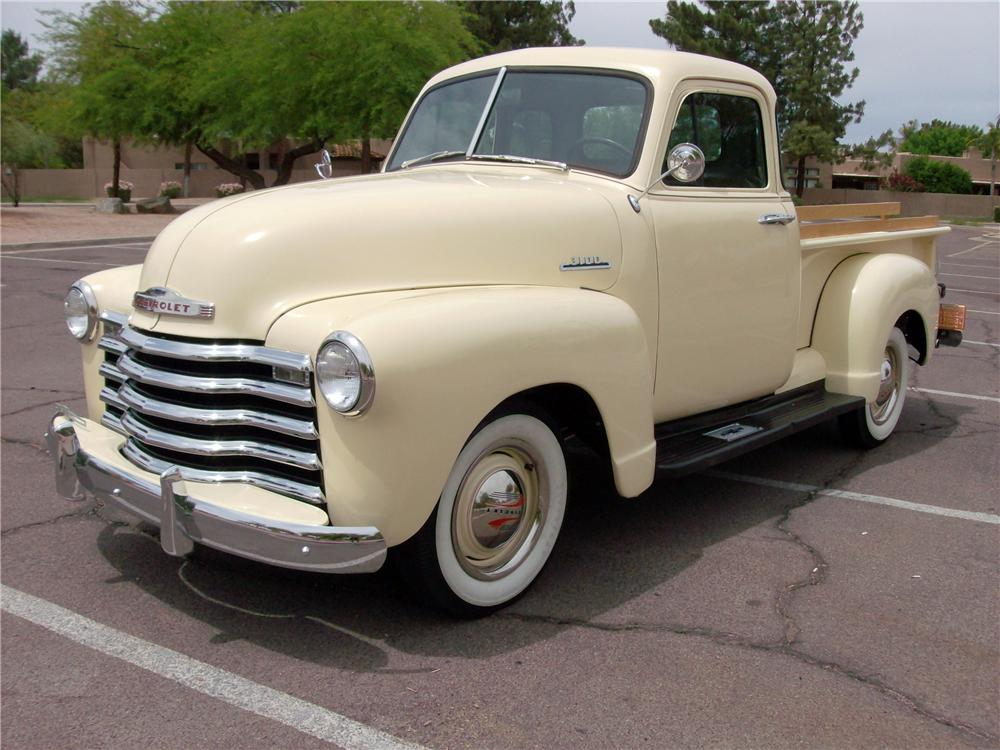 1953 CHEVROLET 3100 PICKUP - Front 3/4 - 138204