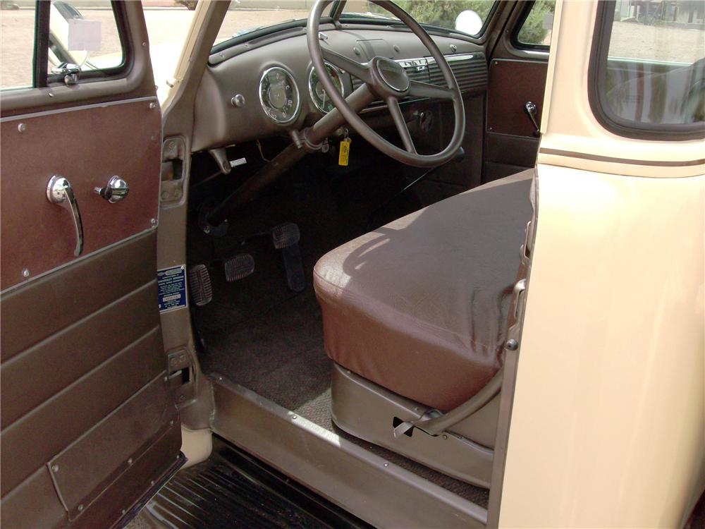 1953 CHEVROLET 3100 PICKUP - Interior - 138204