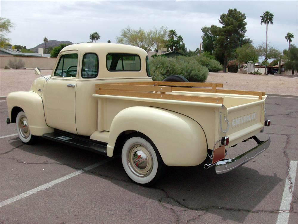 1953 CHEVROLET 3100 PICKUP - Rear 3/4 - 138204