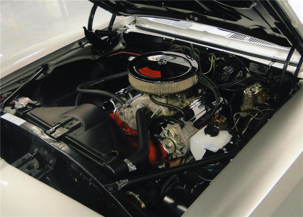 1968 CHEVROLET CAMARO RS CONVERTIBLE - Engine - 138205