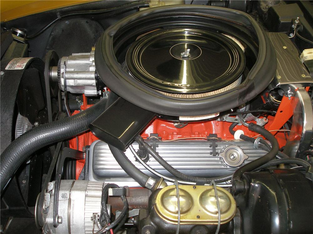 1973 CHEVROLET CORVETTE 2 DOOR COUPE - Engine - 138211