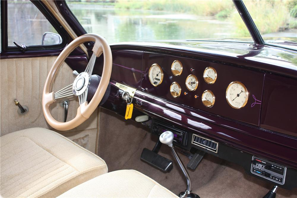 1949 HUDSON CUSTOM 2 DOOR - Interior - 138212