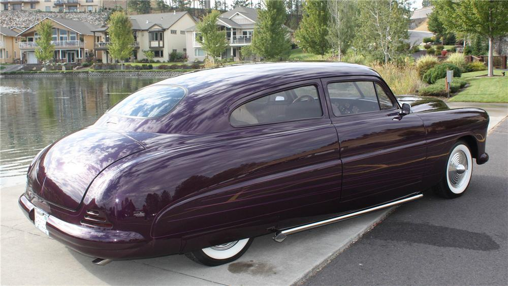 1949 HUDSON CUSTOM 2 DOOR - Rear 3/4 - 138212
