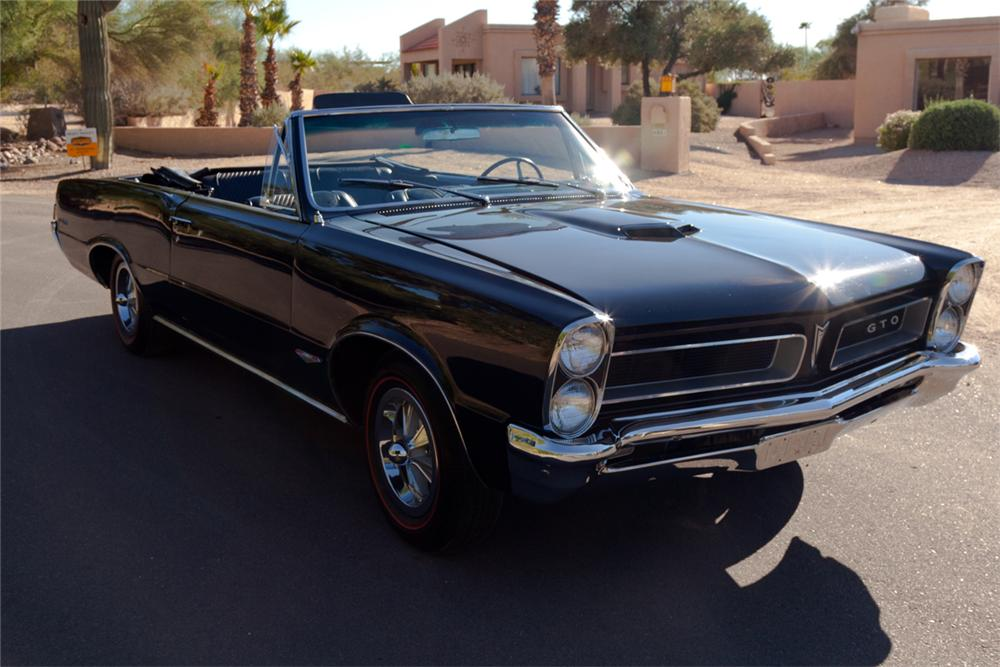 1965 PONTIAC GTO CONVERTIBLE - Side Profile - 138216