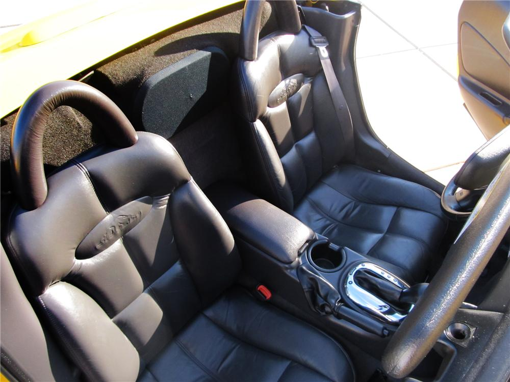 2002 CHRYSLER PROWLER CONVERTIBLE - Interior - 138224