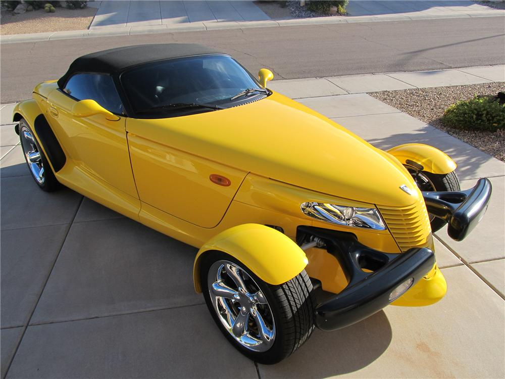 2002 CHRYSLER PROWLER CONVERTIBLE - Side Profile - 138224