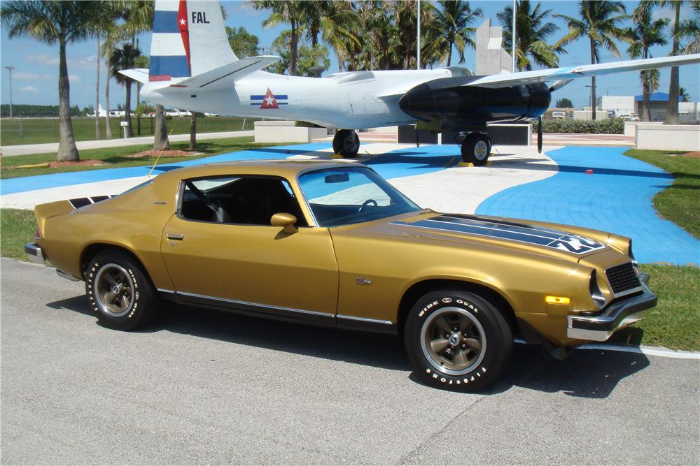 1974 CHEVROLET CAMARO Z/28 2 DOOR COUPE - Front 3/4 - 138226