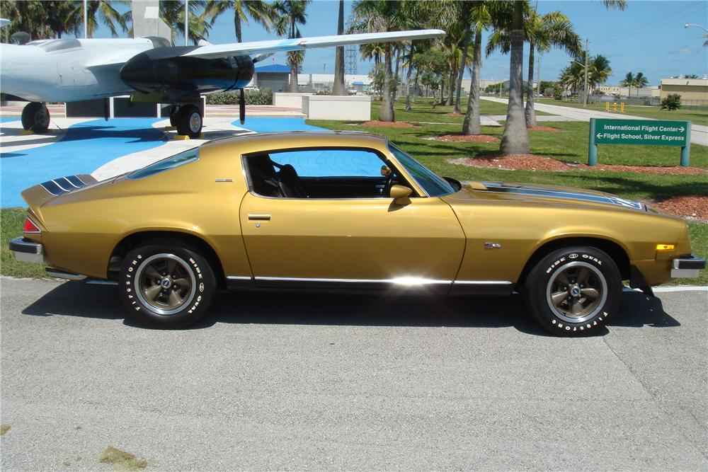 1974 CHEVROLET CAMARO Z/28 2 DOOR COUPE - Side Profile - 138226