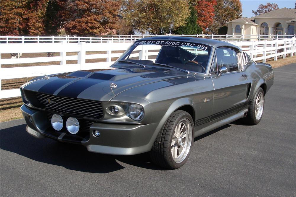 1967 SHELBY GT500C CONTINUATION FASTBACK - Front 3/4 - 138229