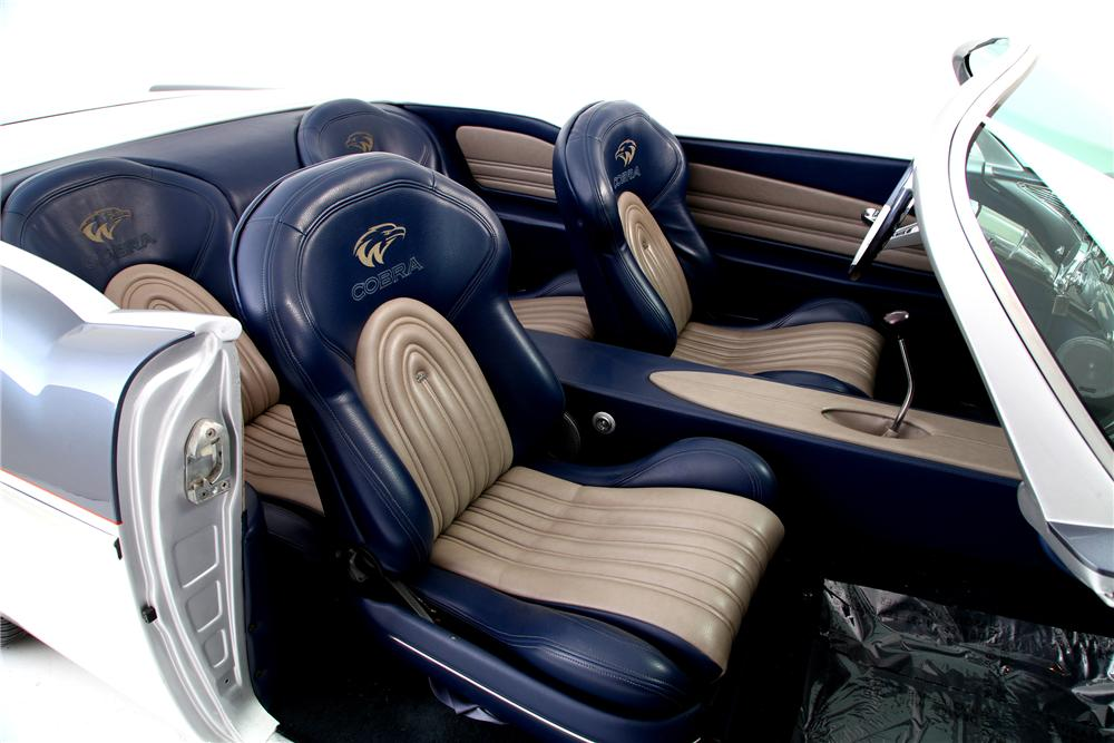 1956 CHEVROLET BEL AIR CUSTOM SPEEDSTER - Interior - 138246