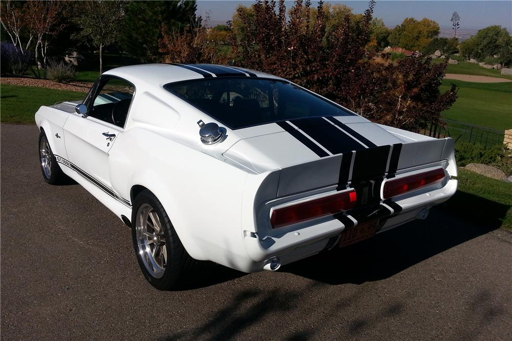 1967 SHELBY GT500 E SUPER SNAKE CONTINUATION - Rear 3/4 - 138250