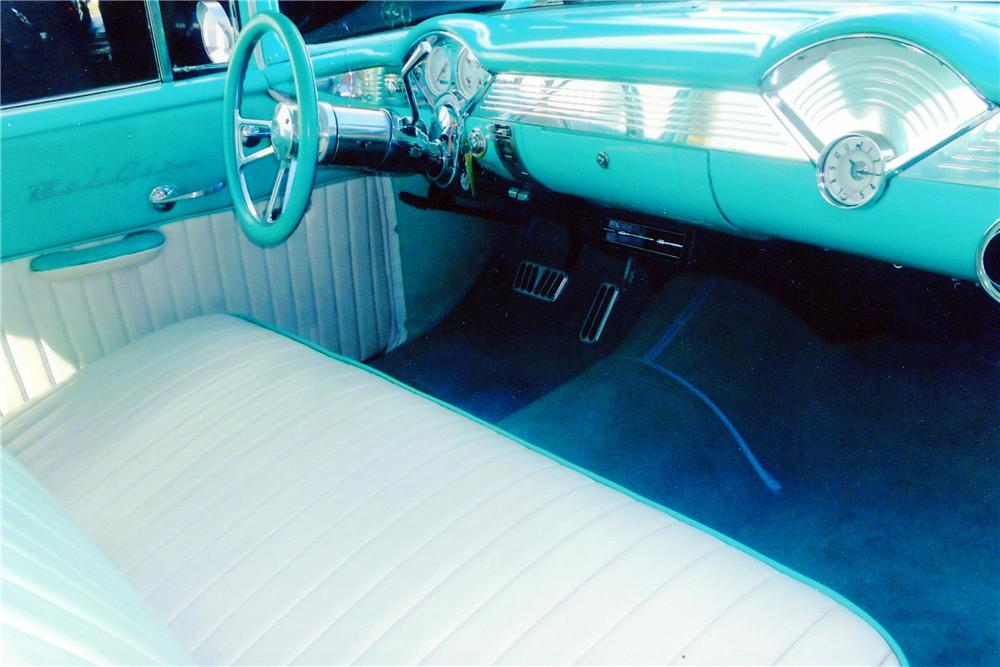 1955 CHEVROLET 150 CUSTOM 2 DOOR SEDAN - Interior - 138255