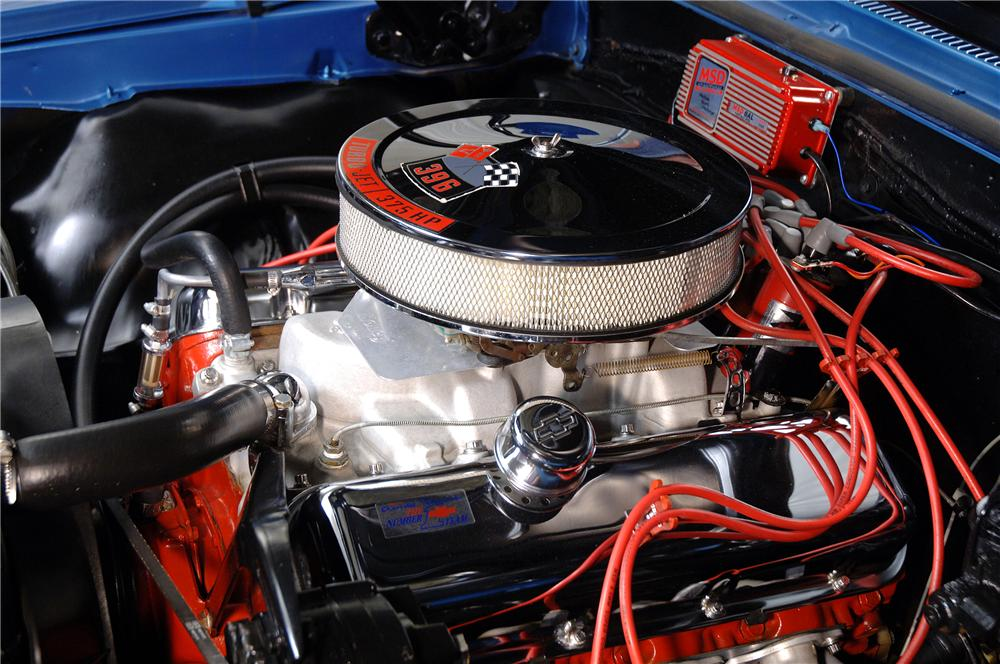 1967 CHEVROLET CHEVELLE HARDTOP - Engine - 138260