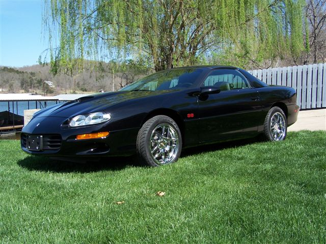 2002 CHEVROLET CAMARO Z/28 RS 2 DOOR HARDTOP - Side Profile - 138262